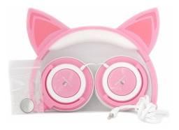 Fones De Ouvido Cat Ear Headphones H´maston