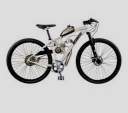 Bike 29 motorizada recém montada 50c com acessórios.