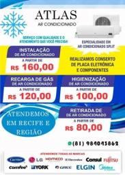 Ar-condicionado serviços