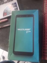 Vendo celular Multilaser f pro na caixa menos de um mês uso