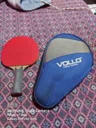 Raquete seme profissional com raqueteira tênis de mesa