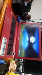 Notebook Acer i5, 8gb ram + SSD 256gb