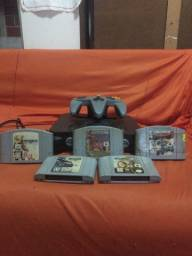 Nintendo 64, e PS2 Caixote raro