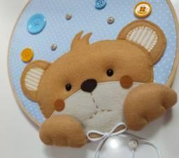 Decoração Urso Curioso- Porta de Maternidade