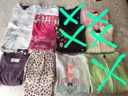 Lote roupa menina 5 anos