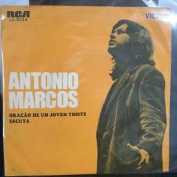 EP - Compacto Simples - Antonio Marcos - Oração de um Jovem Triste / Escuta