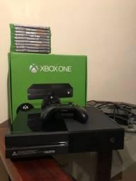 Xbox One impecável com 9 jogos