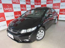 Honda Civic exr 2.0 top de linha, teto solar, multímidia.