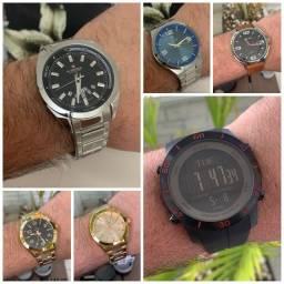 Seleção de relógios top pra você. Só chamar e enviamos todos os modelos disponíveis.