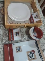 Conjunto 14 peças (Oriental)