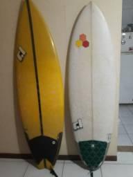 "Prancha de Surf 6,3"" e 5,11"""