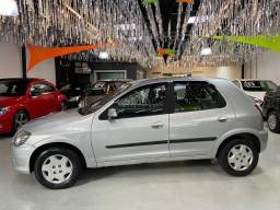 Chevrolet Celta LT 1.0 Vhce Flex 4 Portas 2014 Completo + Airbag Prata