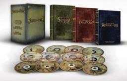 Box Dvds Coleção Trilogia O Senhor dos Anéis Versão Extendida