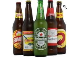 Heineken Brahma kaiser Skol original Budweiser