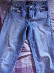 Calça jeans claro tamanho 40