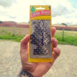 Aromatizante Para Carros ou Ambientes Little Trees Pure Steel