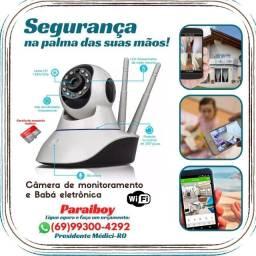 Título do anúncio: Câmeras wifi 3 antenas lançamento Ipega com cartão de memoria