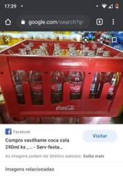 Vasilhame de coca cola