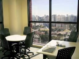 Trabalhe como quiser num escritório privativo para até duas pessoas