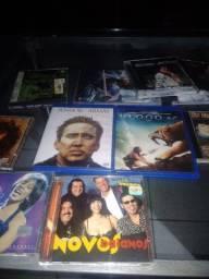 Vendo lote de CD DVD e blu-ray
