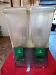 Refresqueira Ibl 2 cubas de 15 litros, revisada 220w