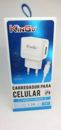 CARREGADOR KINGO ip8