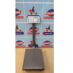 Balança Digital 150kg Plataforma Piso Reforçada ? Entrega grátis *