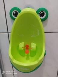 Mictório Pinico Portátil Infantil Sapinho Verde Bebê