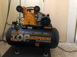 Compressor de ar chiaperine + filtro de ar + chave magnética