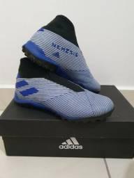 Chuteira Society Adidas Nemeziz 19.3 T-39