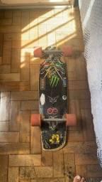 Skate Minilong Blackship + rodas orangatang wheels