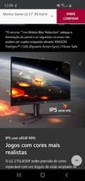 Monitor Gamer LG 27'' IPS Full HD 144Hz 1ms MBR<br><br><br>