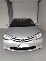 Toyota Etios sedan 1.5 XS Completo. Único dono. Estado de zero. Dúvido outro igual