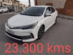 Corolla Xrs, 2018, 23.200 kms, Ipva Pago total 2021(2901,00) extremamente novo