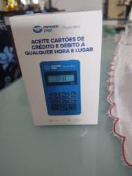 Aceite cartões de crédito e débito com a sua maquininha