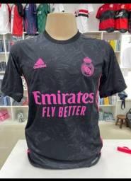 Camisa do Real Madrid 2021 Lançamento