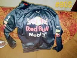 Corta vento Red Bull. Gorro nova tamanho G