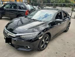 Honda Civic Touring 1.5 Turbo CVT - Ano 2017 - Automático -Teto Solar
