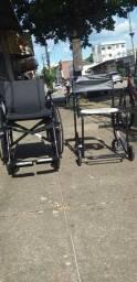 2 Cadeiras de Rodas Ortomix ( tiradas do plástico )