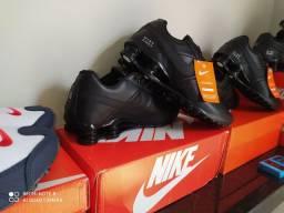 Tênis Nike shox clássic premium 4 molas primeira linha premium