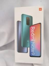 Redmi Note 9 da Xiaomi.. oportunidade única.. Novo Lacrado com pronta Entrega