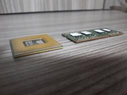 Processador i3 e memória