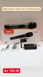 Microfone sem fio Lelong,Novo a pronta entrega