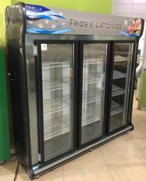 Freezer expositor 3 portas