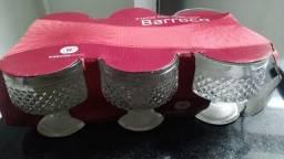 Jogo 6 taças para sobremesa - NOVO