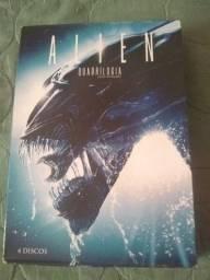 Box DVD Alien 4 filmes