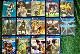 PS4 - fitas diversas para PS4