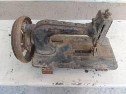 Máquina de costura manual antiga antiguidade decoração enfeite