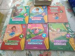 Livros Projeto Buriti e Inglês Kids Web 4°ano usado