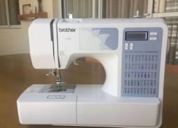Máquina De Costura Brother Ce5500 Branca E Azul-celeste 110v/220v